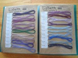 画像2: Lizbeth 単色112色 実物見本帳  #20