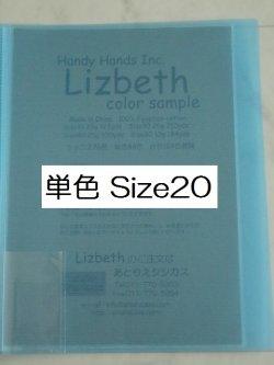 画像1: Lizbeth 単色112色 実物見本帳  #20