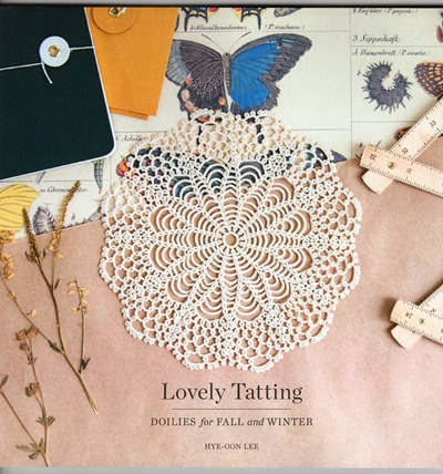 lovely tatting doilies for fall and winter あとりえシシカス