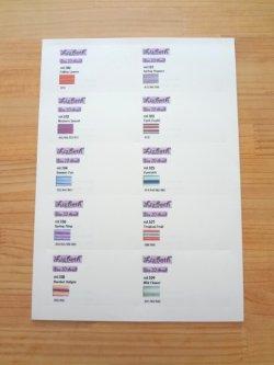 画像3: Lizbeth 台紙 Mix91色  #20 色見本付