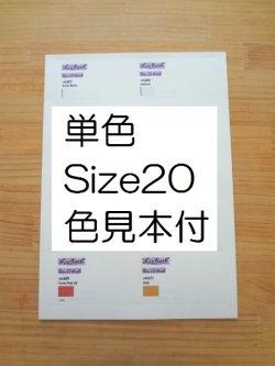 画像1: Lizbeth 台紙 単色115色  #20 色見本付
