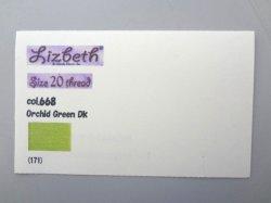 画像2: Lizbeth 台紙 単色115色  #20 色見本付