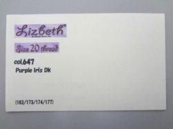 画像2: Lizbeth 台紙 単色115色  #20