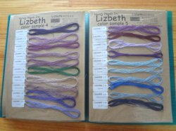 画像2: Lizbeth 単色115色 実物見本帳  #20