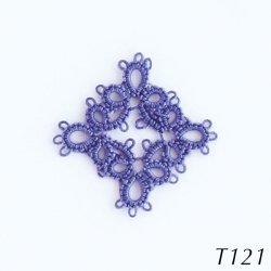 画像2: タティングレース糸 細 T121