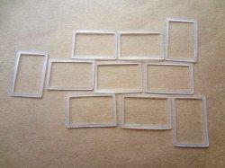 画像1: ニットリング  長方形