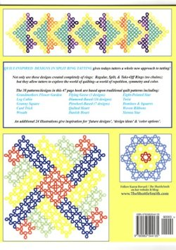 画像2: Quilt-Inspried Designs in Split Ring Tatting